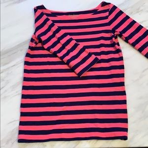 Lilly Pulitzer Boatneck shirt.